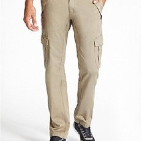 official images run shoes selected material GUESS!! NEW MEN'S SLIM CARGO TWILL PANTS! SZ 30 NWT